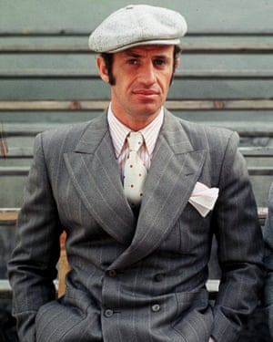 Jean-Paul Charles Belmondo, pictured here in Borsalino, 1970, was born in Neuilly-sur-Seine on 9 April 1933.