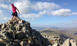 Nicky Spink's double Bob Graham Round, in which she was supported by Inov-8
