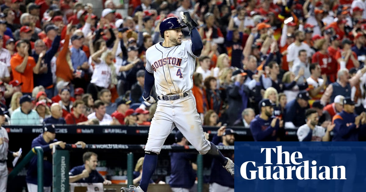Astros one win from World Series title after victory over Nationals in DC