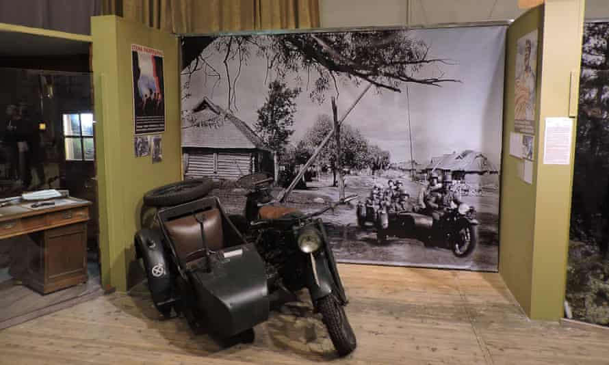 An exhibit at the Museum of the Defence and Siege of Leningrad, St Petersburg, Russia