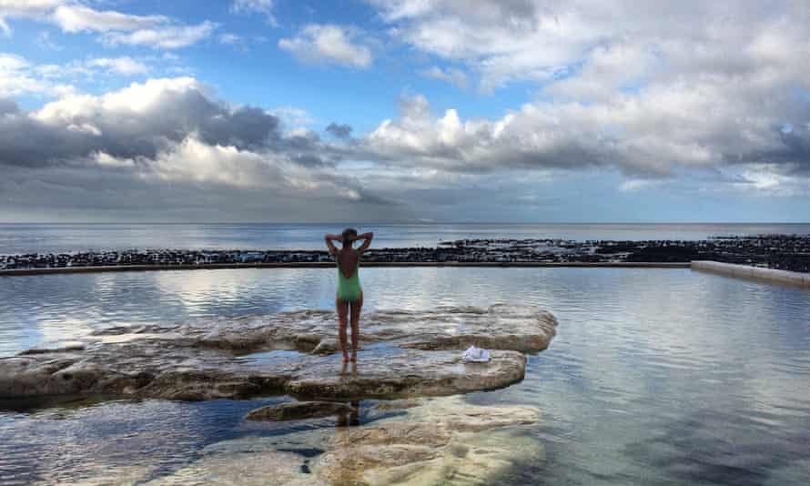 Dalebrook tidal pool in Cape Town, South Africa
