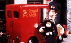 Postman Pat with his cat Jess