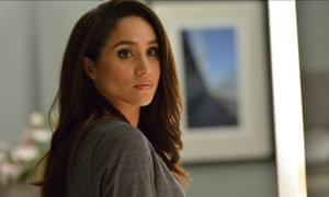 Meghan Markle, pictured in the legal drama Suits.