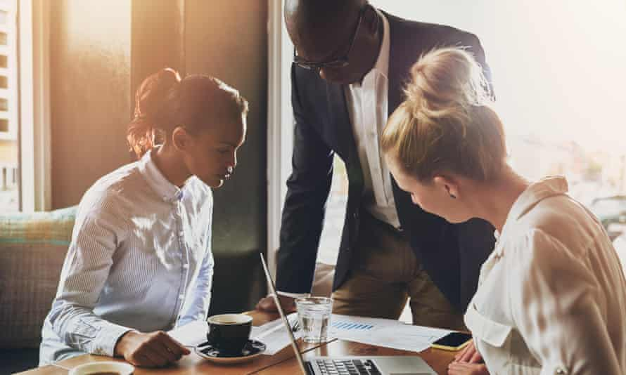 Bosses should involve employees in coming up with solutions to problems in a business.