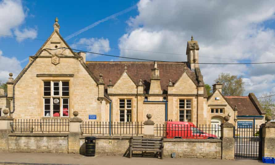 Burford primary school in the Cotswolds.