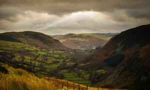 Berwyn Hills landscape