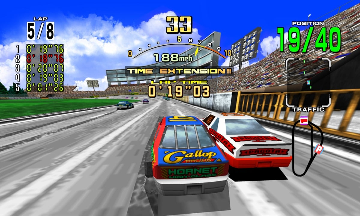 Best Driving Games On Roblox Daytona Usa Why The Best Arcade Racing Game Ever Just Won T Go Away Games The Guardian