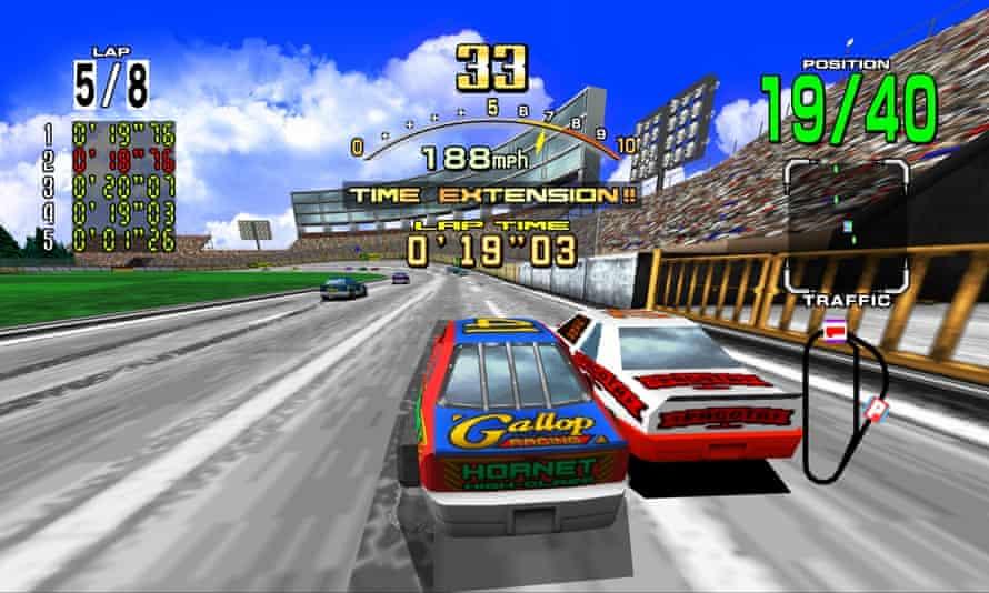 Decades of fun … Daytona USA.