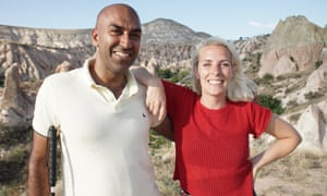Sara Pascoe with Amar Latif in Travelling Blind