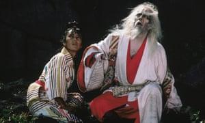 Peter and Tatsuya Nakadai in Ran.
