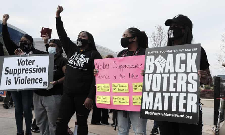 'What we as voting rights advocates hope to see is permanent and universal support for voting rights among the business community.'