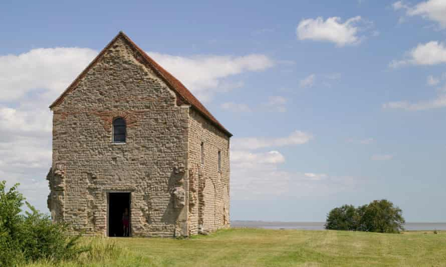 St Peter-on-the-Wall in Bradwell-on-Sea, Essex, was built on the remains of a Roman fort.