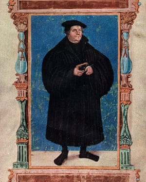 19th century portrait of Martin Luther (1483-1546)