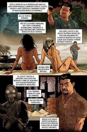 Amid real-life political scandal, comic strip offers Brazilians even darker fantasy