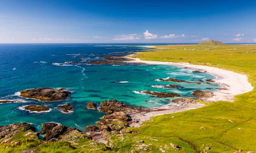 'Fringed with white sand beaches': Tiree.