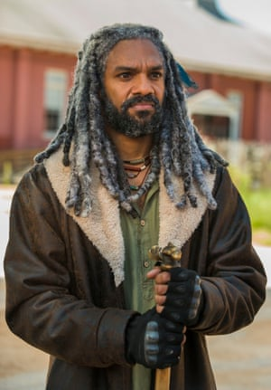 Time to stop the yip-yap and get your tiger to rip out the bad guys' throats, King Ezekiel.