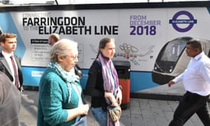 Running late: the opening of Crossrail has been delayed until autumn 2019