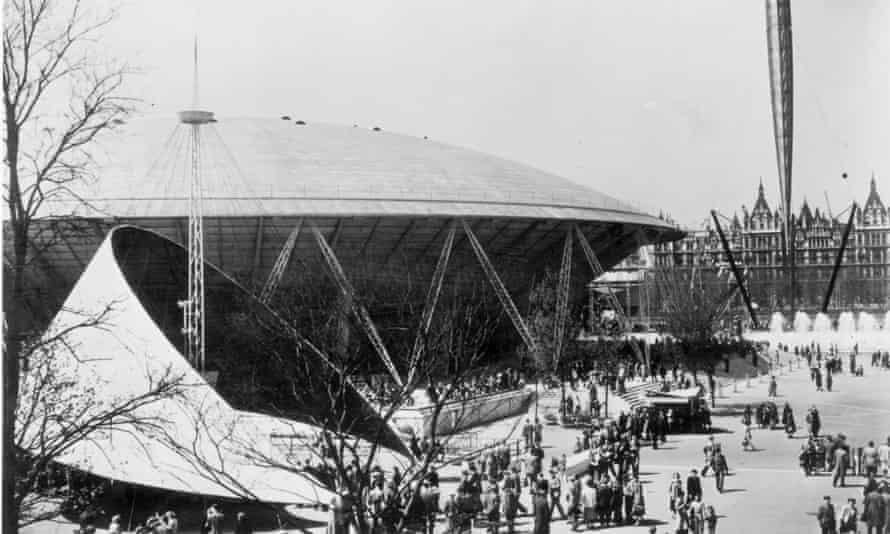 The Festival of Britain site in 1951