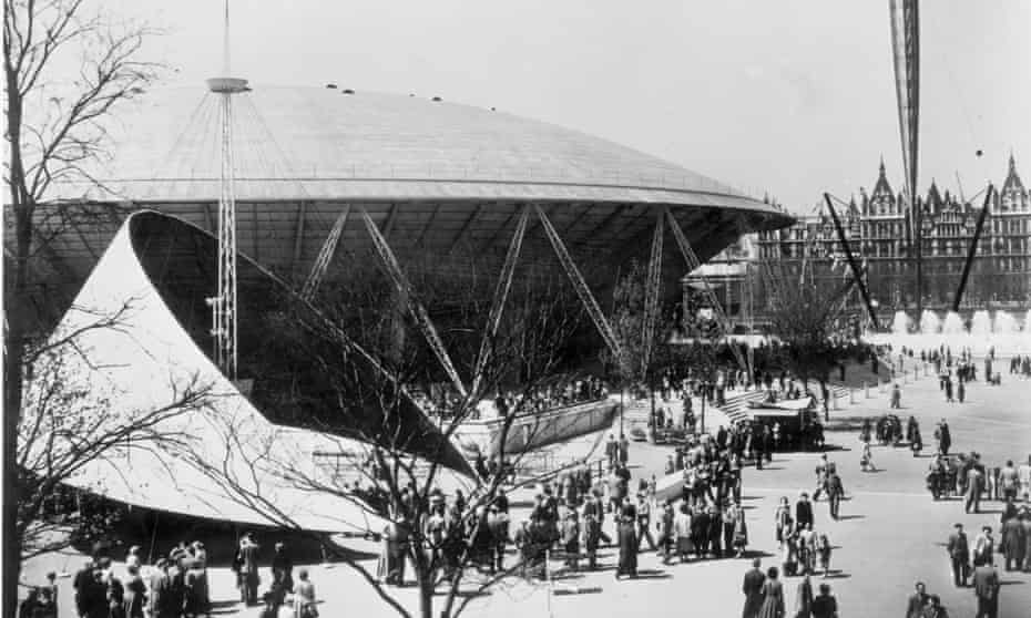 The Dome of Discovery at the festival of Britain in London in 1951