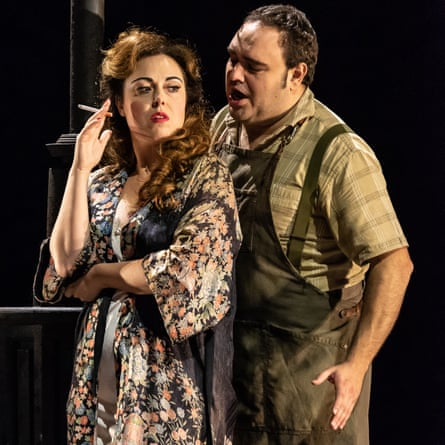 Francesca Tiburzi & Sergio Escobar in 'Mala vita' by Giordano Wexford Festival Opera 2018 Photo credit: © CLIVE BARDA/ArenaPAL;