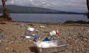 The ban is a response to irresponsible campers who leave litter.