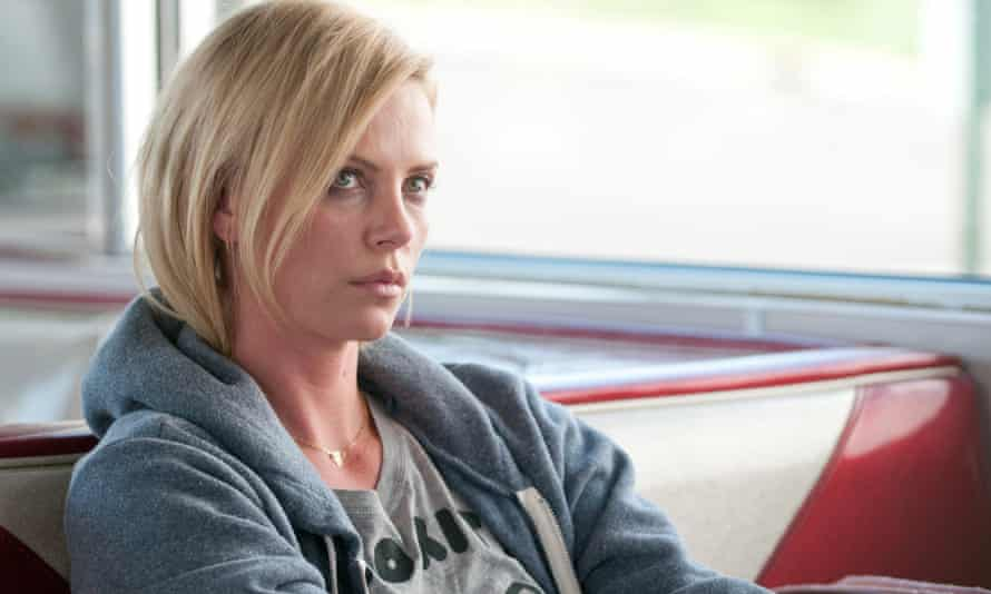 Charlize Theron in 2001's Young Adult, written by Diablo Cody and directed by Jason Reitman.