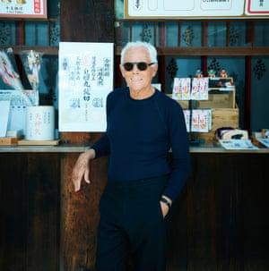 'My interest was fuelled by a diet of Utamaro and Kurosawa': Giorgio Armani.