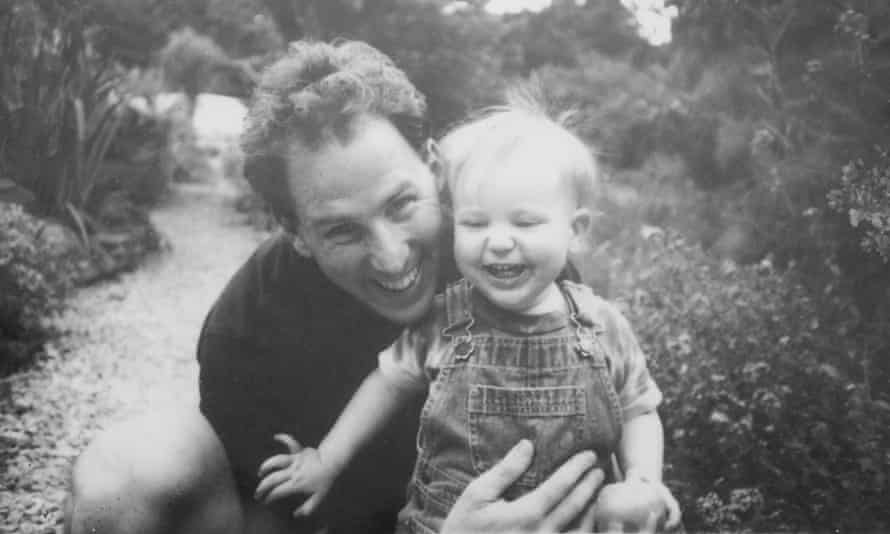 Thomas Harding with his son, Kadian, when he was a baby