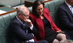 The jobs minister, Kelly O'Dwyer, told the prime minister, Scott Morrison, the government could not allow itself to be bullied by the Liberal National party in Queensland.