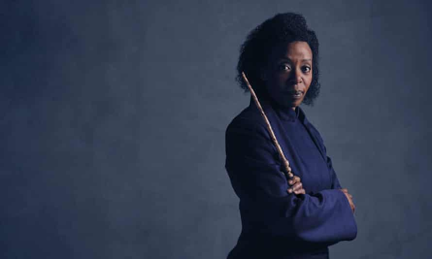 Noma Dumezweni as Hermione. 'The best actress for the job,' says Rowling