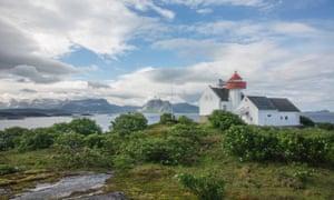 Time and space: the lighthouse at Flatøy fyr.