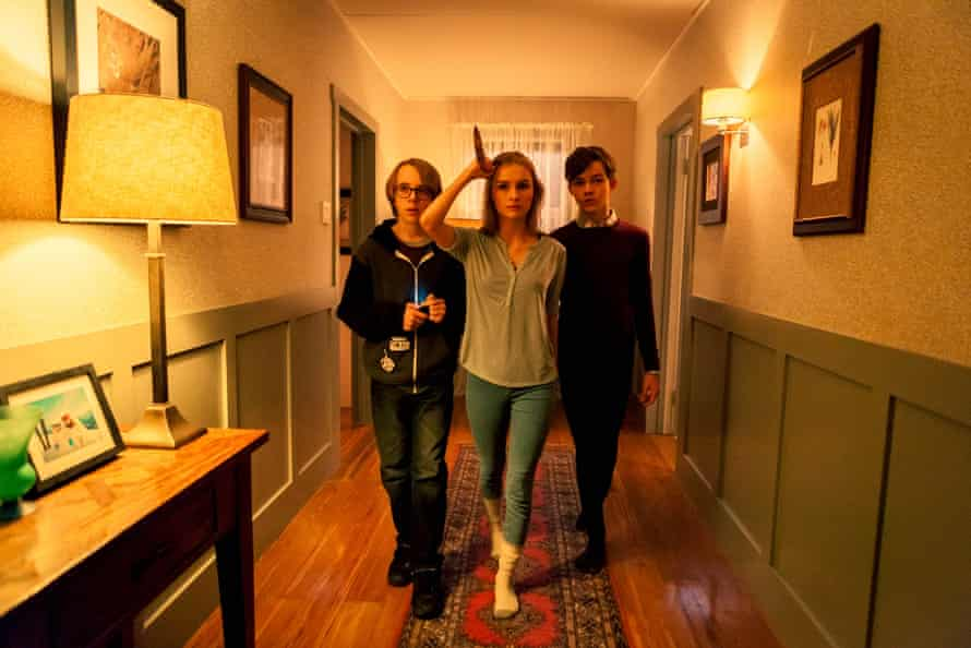 Levi Miller, Olivia DeJonge, Ed Oxenbould in Better Watch Out, an Australian/US co-production Christmas horror film.