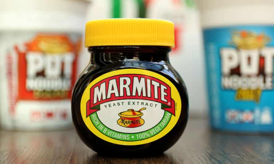 Marmite and other Unilever products
