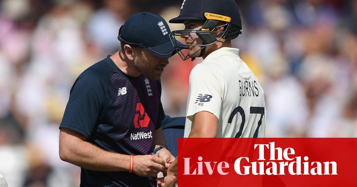 Ashes 2019: England chasing 359 v Australia, third Test day three –live!