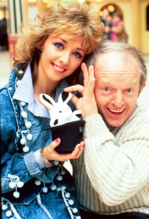 Paul Daniels and his professional and personal partner Debbie McGee in 1988.