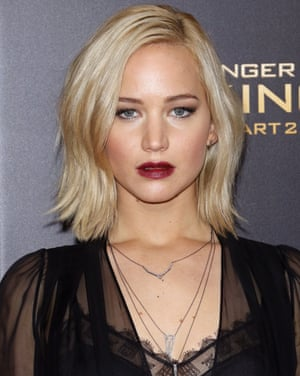 Jennifer Lawrence at the New York Premier of The Hunger Games: Mockingjay- Part 2 in 2015
