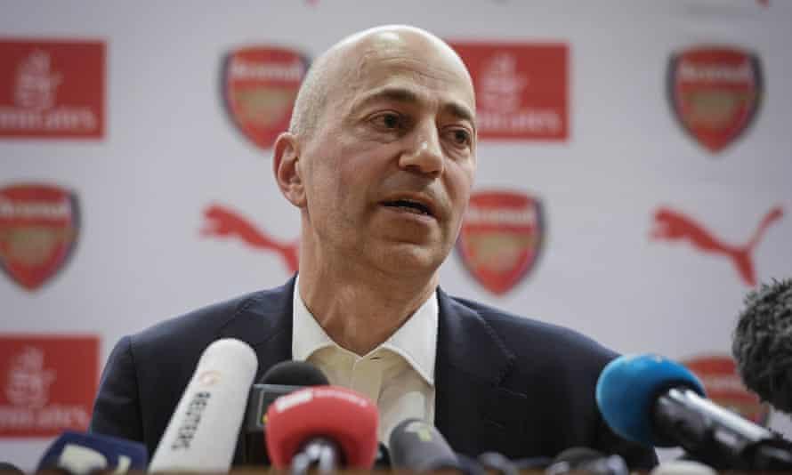 Ivan Gazidis, Arsenal's chief executive
