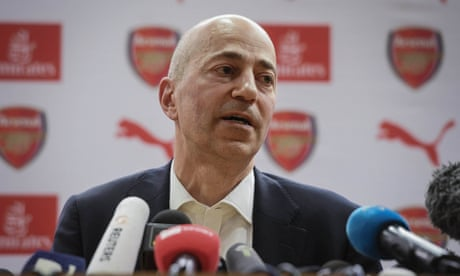 Milan hopeful Ivan Gazidis will leave Arsenal to join as chief executive