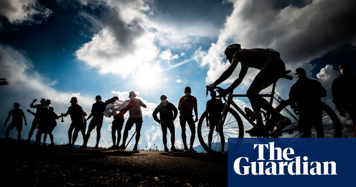 Mountains and masks: Tour de France 2020 – in pictures