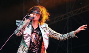 Karen O of the Yeah Yeah Yeahs.