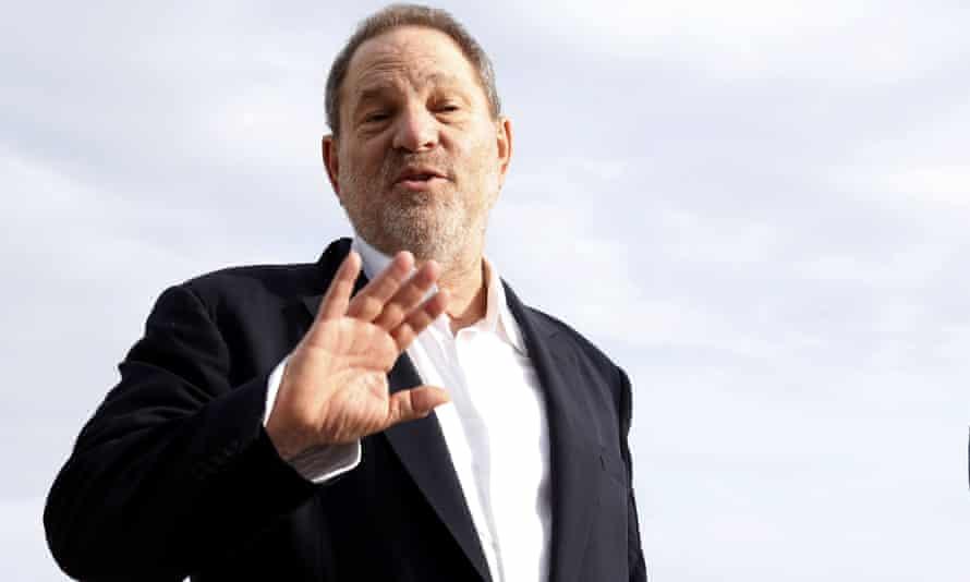 Harvey Weinstein in Cannes.