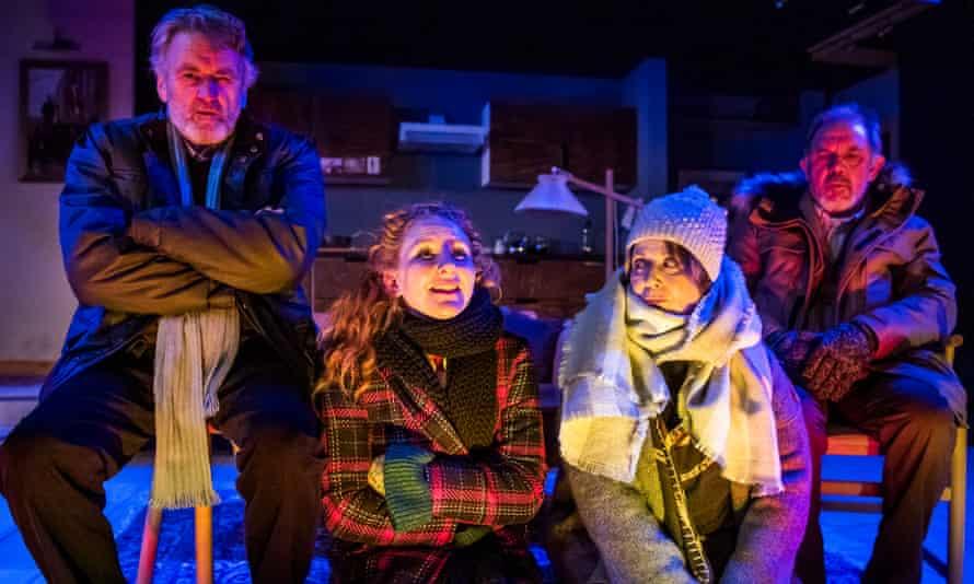 Fascinating … Neil McCaul, Dorothea Myer-Bennett, Julia Swift and David Bamber in Rosenbaum's Rescue .