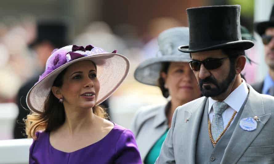 La princesa Haya y el jeque Mohammed en Royal Ascot en 2011