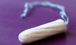 One tampon close up
