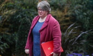 Thérèse Coffey, who kept her job as work and pensions secretary.