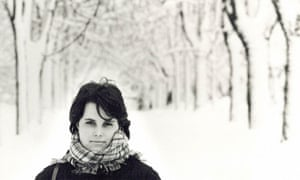 Snowy fairytale world … Vesna Goldsworthy.