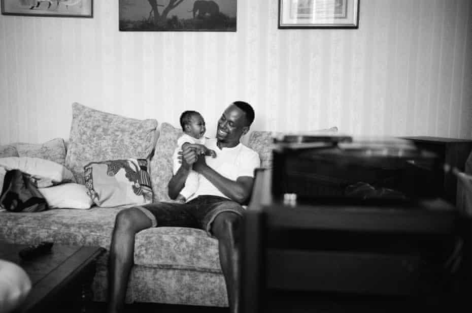 Kadeem & his daughter La'nyah-Rose