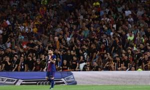 澳门金沙网站足球俱乐部的莱昂内尔·梅西单打未来