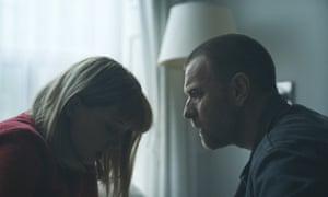 Léa Seydoux and Ewan McGregor in Zoe.