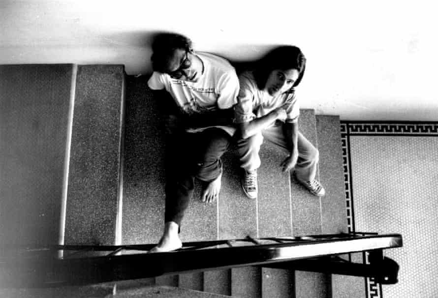 Jon Marsh, left, and Steve Waddington in 1990.